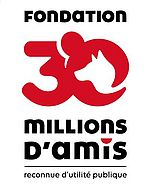 [Translate to English:] 30 millions d'amis partenaire national depuis 2007