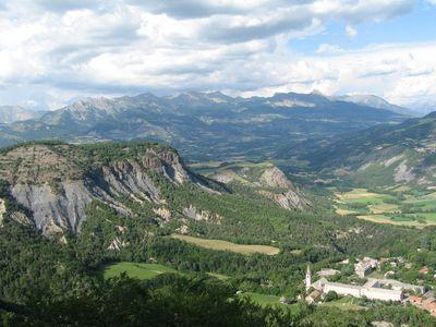 View of Notre-Dame du Laus