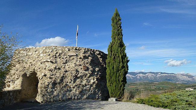 Tour d'Upaix. OT Sisteron-Buech