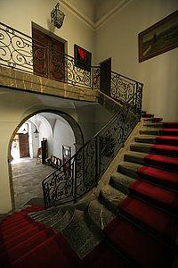 Escaliers de l'Hôtel de Ville de Gap