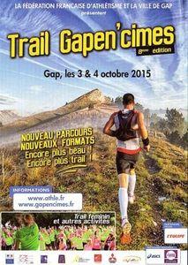 Affiche Gapen'cimes 2015