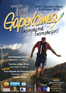 Affiche Gapen'cimes 2010