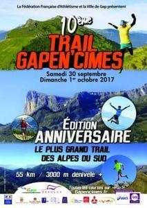 Affiche Gapen'cimes 2017