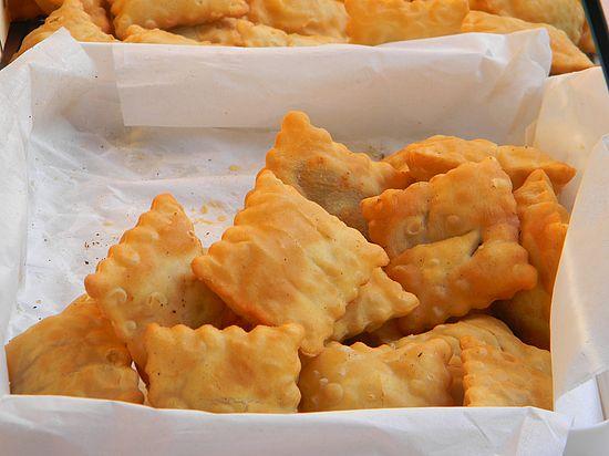 Les tourtons - beignets fourrés - salés ou sucrés