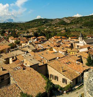 The medieval village of Tallard