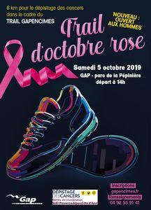 Affiche Trail Rose 2019
