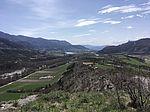 Vue sur la vallée depuis Saint Abdon - Tallard