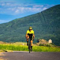 Cycliste col de la Sentinelle © R.Fabrègue