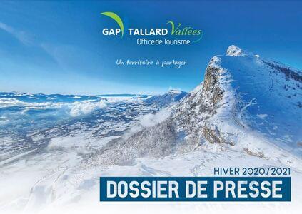 Dossier de Presse Gap Tallard Vallées hiver 2020-2021