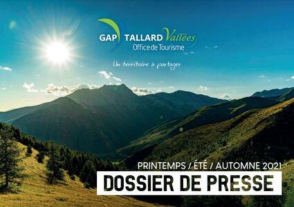 Dossier de Presse Gap Tallard Vallées printemps - été - automne 2021